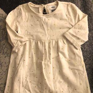 Old Navy Cream Star Dress